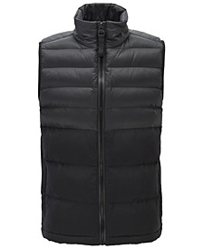 BOSS Men's Odoter Zip-Through Gilet Vest