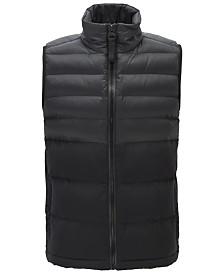 BOSS Men's Odoter Zip-Through Gilet Vest