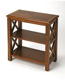 Vance Olive Ash Bookcase