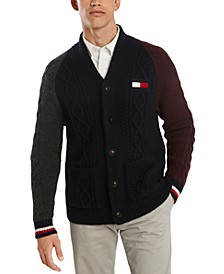 Men's Coleman Colorblock Cardigan Sweater