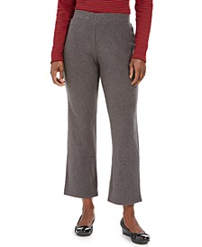 Petites Microfleece Pants, Created For Macy's