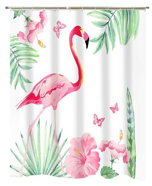 Popular Bath Flamingo Shower Curtain
