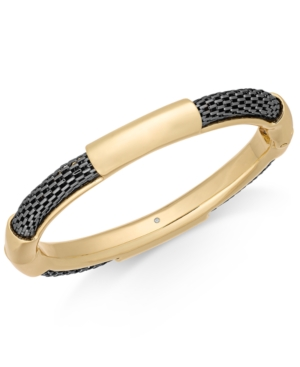 Alfani Two-Tone Mesh Bangle Bracelet, Created For Macy's
