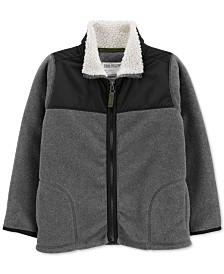 Carter's Little & Big Boys Fleece Zip-Up Jacket
