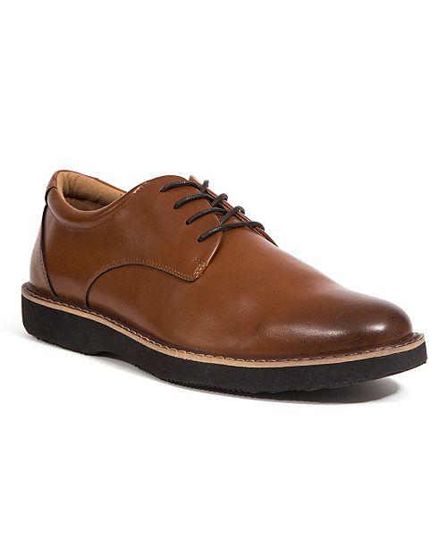 DEER STAGS Men's Walkmaster Classic Comfort Oxford