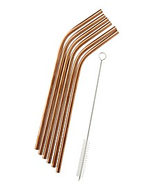 Stainless Steel Straws - Set of 6