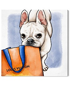 Shop Ready Frenchie Canvas Art Collection