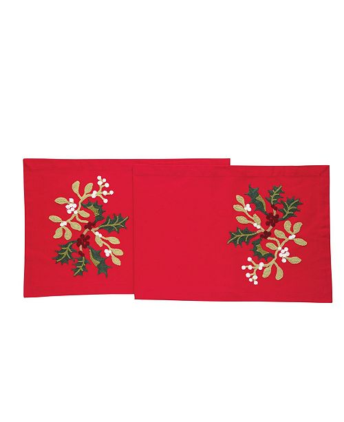 C&F Home Holly Branch Table Runner