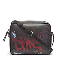 Tilly Graffiti Logo Camera Crossbody, Created For Macy's