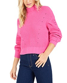 Becca Tilley x Ribbed Turtleneck Sweater, Created For Macy's