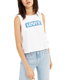 Women's Logo Cropped Tank Top