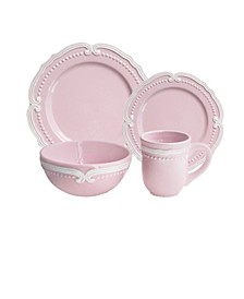 Victoria Blush 16 Pc Dinnerware Set