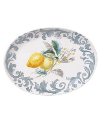 Citron Oval Platter