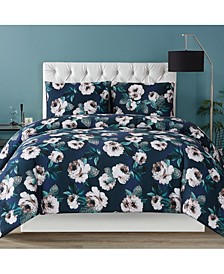 Christian Siriano Mags Floral Full/Queen Comforter Set