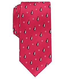 Men's Winter Penguin Tie, Created For Macy's