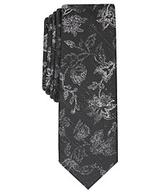 INC Men's Shaw Floral Tie, Created For Macy's