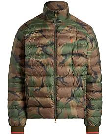 Polo Ralph Lauren Men's Big & Tall Light Weight Down Jacket