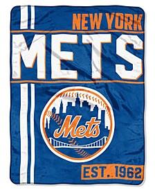 New York Mets Micro Raschel Walk Off Blanket