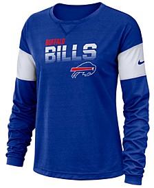 Women's Buffalo Bills Breathe Long Sleeve Top