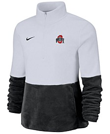 Women's Ohio State Buckeyes Therma Long Sleeve Quarter-Zip Pullover