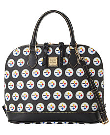 Dooney & Bourke Pittsburgh Steelers Saffiano Zip Satchel