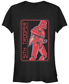 Star Wars Women's Rise of Skywalker Retro Sith Trooper T-Shirt
