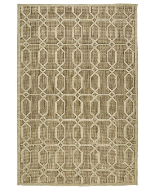 Kaleen A Breath of Fresh Air Khaki Area Rug Collection