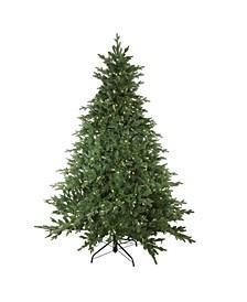 7.5' Pre-Lit LED Minnesota Balsam Fir Artificial Christmas Tree - Warm White Lights