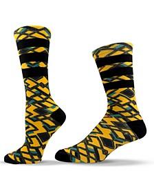 Unisex Patterned Crew Socks