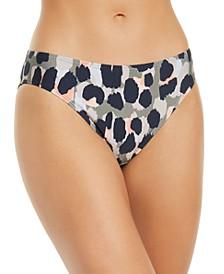 Printed Bikini Bottoms