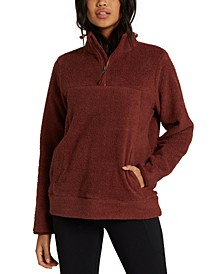 Juniors' Boundary Water-Repellent Fleece Sweatshirt
