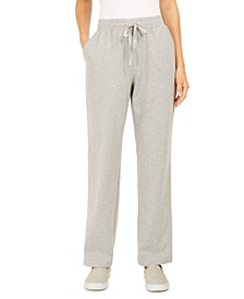 Sport French Terry Ribbon Trim Pants, Created for Macy's