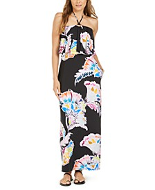Seychelles Printed Maxi Cover-Up Dress