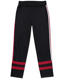 Little Boys Evan Pieced Stripe Track Pants