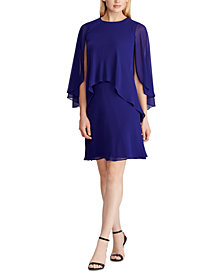 Lauren Ralph Lauren Layered Georgette Dress