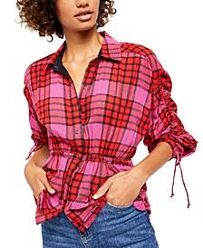 Pacific Dawn Plaid Shirt
