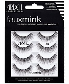 Faux Mink Lashes 817 4-Pack