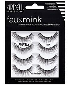 Faux Mink Lashes 817 4-Pack