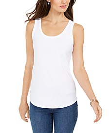 Petite Cotton Tank Top, Created for Macy's