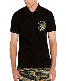 Men's Tiger Patch Polo Shirt