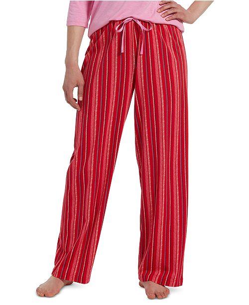 Hue Temp Tech® Sprinkle Stripe Pajama Pants