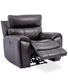 "Hutchenson 43"" Leather Power Recliner"