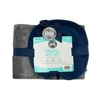Deals on Bon Voyage Travel Pillow & Blanket Set