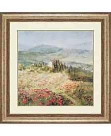 "Summer in Provence Framed Wall Art, 39"" x 39"""