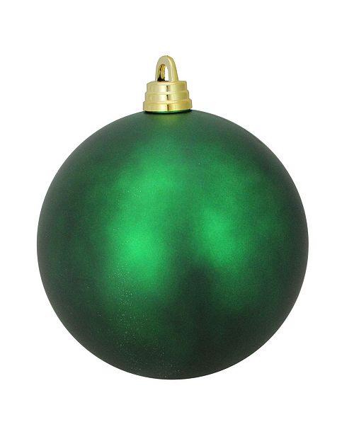 "Northlight Xmas Green Shatterproof Matte Commercial Christmas Ball Ornament 12"" 300mm"
