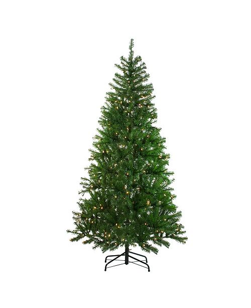 Northlight Pre-Lit Vail Spruce Medium Artificial Christmas Tree - Clear Lights