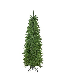 7.5' White River Fir Artificial Pencil Christmas Tree - Unlit