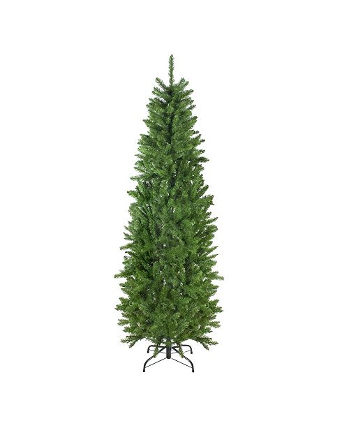 Northlight 7.5' White River Fir Artificial Pencil Christmas Tree - Unlit