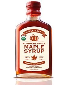 Pumpkin Spice Vermont Maple Syrup Organic