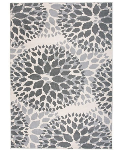 "Main Street Rugs Home Haven Hav9099 Gray 3'1"" x 5' Area Rug"